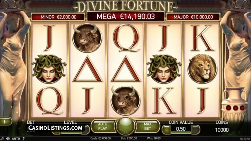 divine fortune joc pacanele gratis